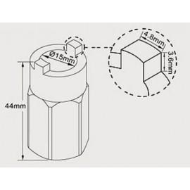 Extractor Amortiguador (Cazoleta ) VW y Audi