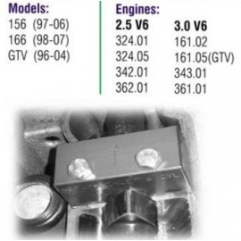 Calador Alfa Romeo 156 2.5 V6