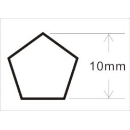 Dado Pentagonal 10mm Fenos JTC