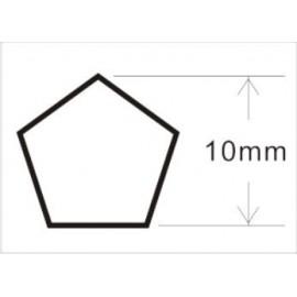 Dado Pentagonal 10mm Frenos JTC