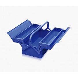 Caja Porta Herramientas Metálica 2 niveles VIKTEC 420*200*160mm
