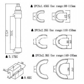 Juego Compresor Espiral VIKTEC