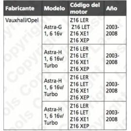 Calador Opel 1.6 16V VIKTEC