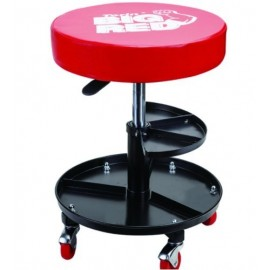 ASIENTO PARA MECANICO REDONDO AJUSTABLE BIG RED