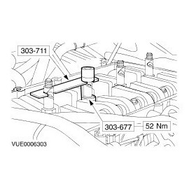 Alineador de Inyectores para Ford 2,0 2,2 2,4 Di TDCi TDDi Duratoq VIKTEC