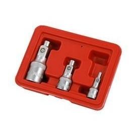 """Juego Adaptadores Magneticos 3 Pzas 1/4-3/8-1/2"""" VIKTEC"""